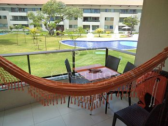 Flat 1 Quarto no Carneiros Beach Resort (A05-E)