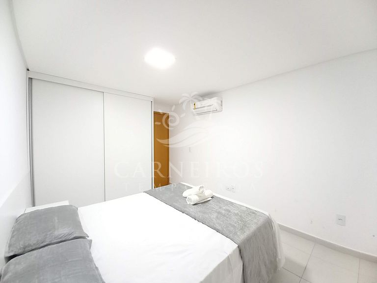 Flat 1 Quarto no Carneiros Beach Resort ( B08-E)