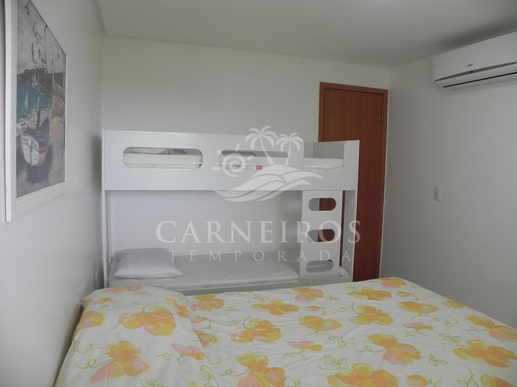 Flat 1 Quarto no Carneiros Beach Resort (C10-D)