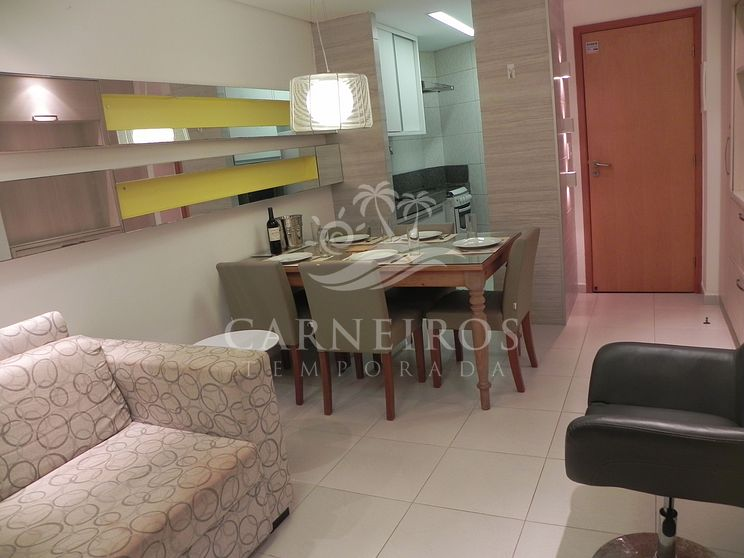 Flat 1 Quarto no Carneiros Beach Resort (C13-5)